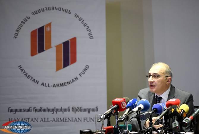 Айкаку Аршамяну удалось вернуть доверие к Всеармянскому фонду «Айастан»