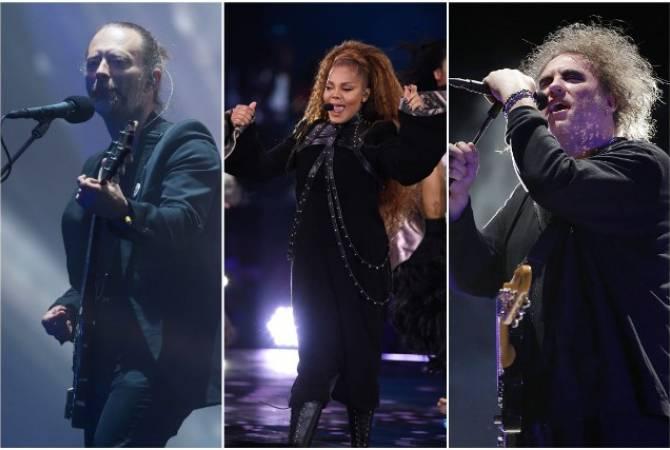 Джанет Джексон, Radiohead и The Cure войдут в Зал славы рок-н-ролла