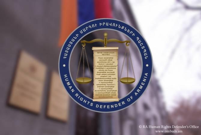 Защитник прав человека Армении обратился в Конституционный суд по некоторым положениям закона «Об амнистии»
