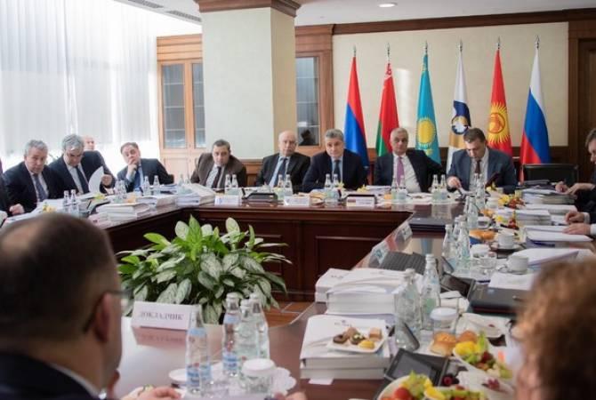 Мгер Григорян провел первое в этом году заседание Совета Евразийской экономической комиссии
