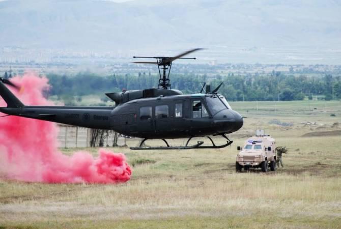 Грузия отремонтирует многоцелевые вертолеты Ирокез