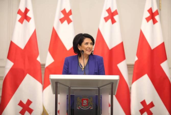 Президент Грузии создала свой благотворительный фонд