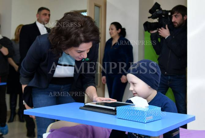 В Армении открылся Центр детской онкологии и гематологии