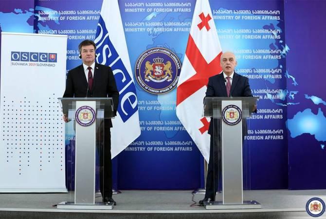 Грузия надеется на активизацию роли ОБСЕ в урегулировании отношений Тбилиси и Москвы
