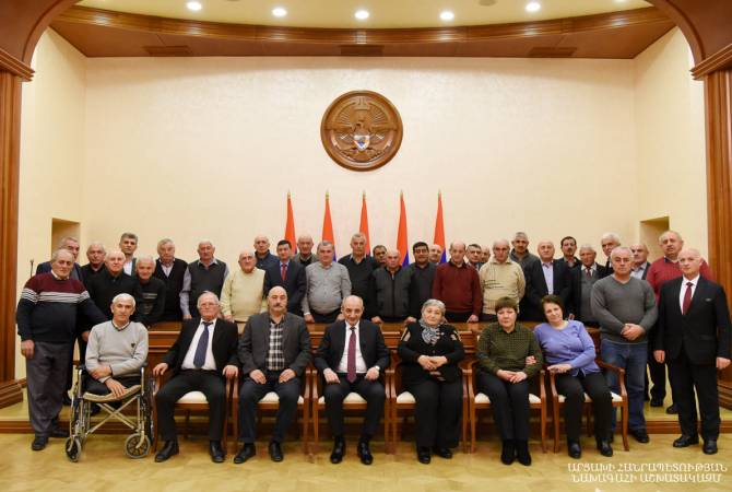 Бако Саакян принял группу активистов арцахского движения