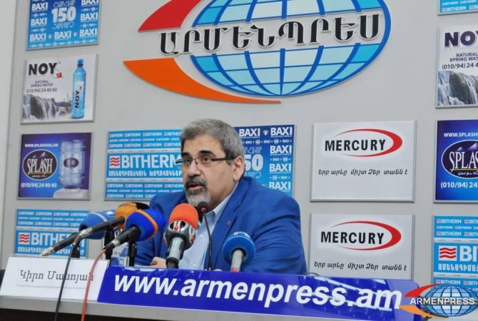 Киро Маноян считает необходимым заключение договора о сотрудничестве между Арменией и Арцахом