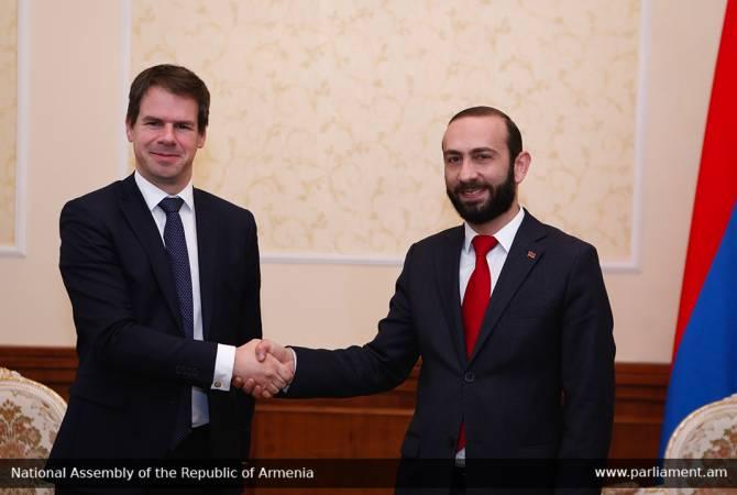 Соглашение Армения-ЕС в повестке Национального Собрания Франции