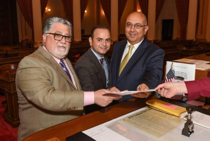 New bill seeks to re-establish California-Armenia trade office