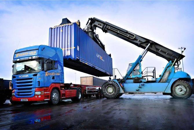 Объем экспорта из Армении в Россию увеличился на 20%