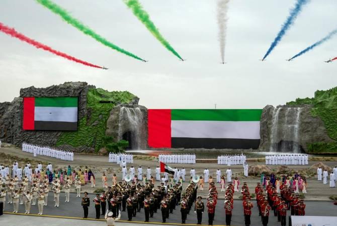 Блестящее выступление военного оркестра РА в Арабских Эмиратах (видео)