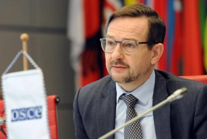 ОБСЕ считает положительным импульсом обязательство лидеров Армении и Азербайджана подготовить свои народы к миру