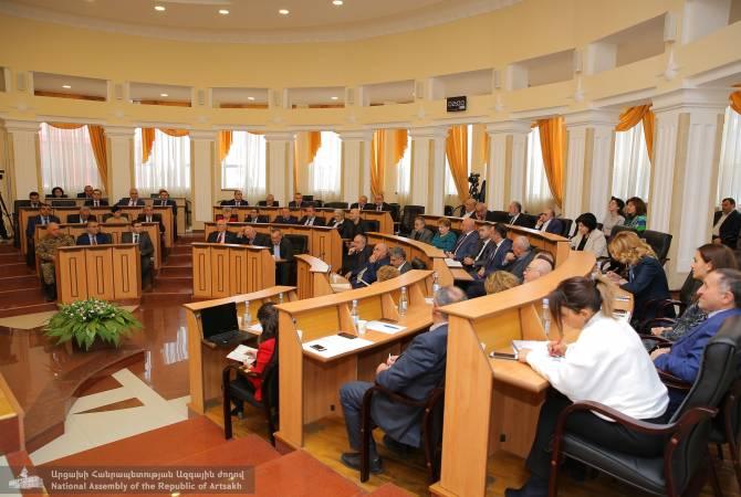 В Национальном собрании Республики Арцах открылась весенняя сессия