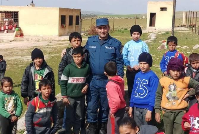 Армянские врачи, направившиеся с гуманитарной помощью в Сирию, оказывали больным хирургическую и терапевтическую помощь