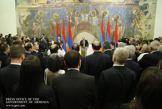 All diplomats have the opportunity to participate in economic revolution – Pashinyan attends 