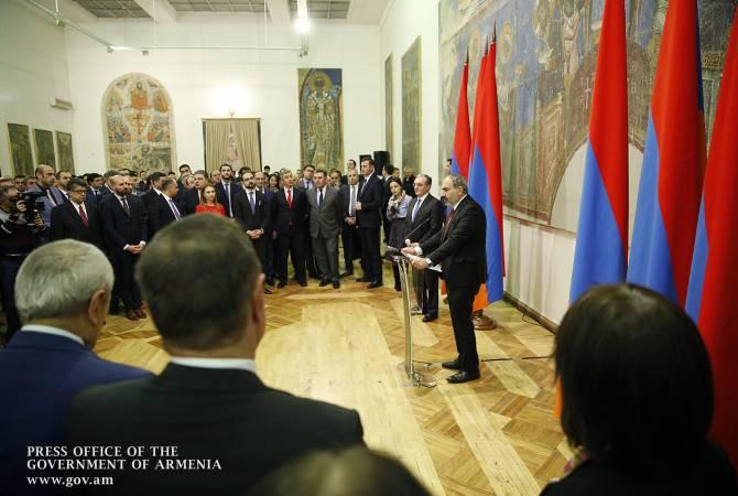 Армения должна продолжить политику по международному признанию Геноцида армян: Пашинян