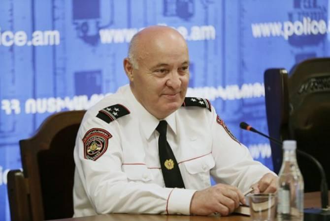 Агаси Киракосян освобожден с должности заместителя начальника полиции Армении