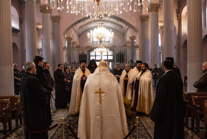 Armenian Patriarch of Jerusalem to attend funeral of Archbishop Mesrob Mutafyan in Istanbul