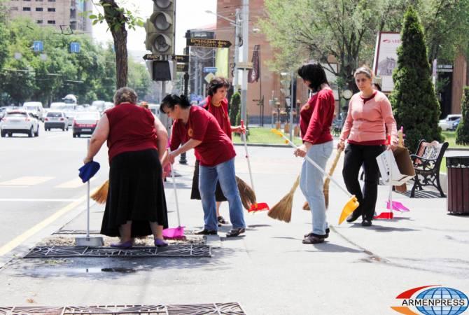 Никол Пашинян призывает к активному участию в день общегосударственной чистоты