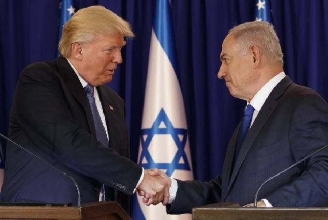 Трамп примет в Белом доме Нетаньяху