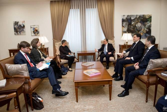 Глава МИД Армении и председатель ПАСЕ подчеркнули важность продолжительности диалога между Арменией и СЕ