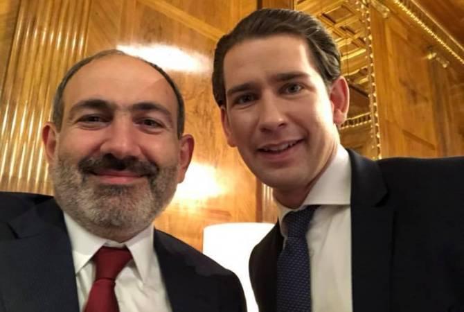 С самым молодым европейским лидером: Пашинян опубликовал новое селфи