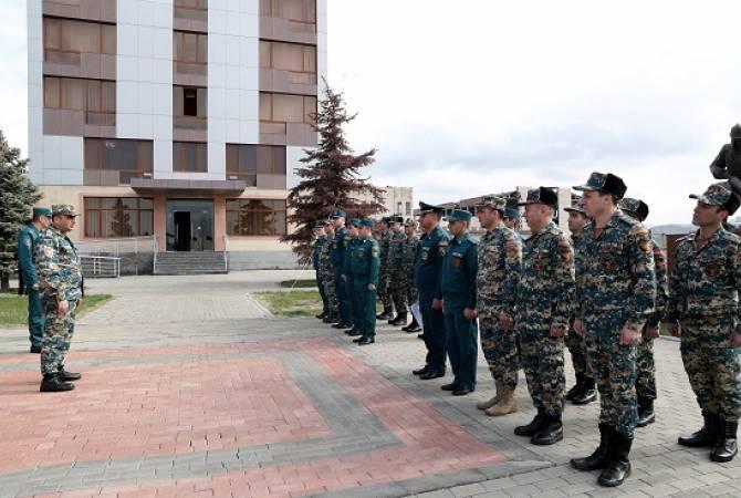 Армянские спасатели пройдут переподготовку в вузах РФ