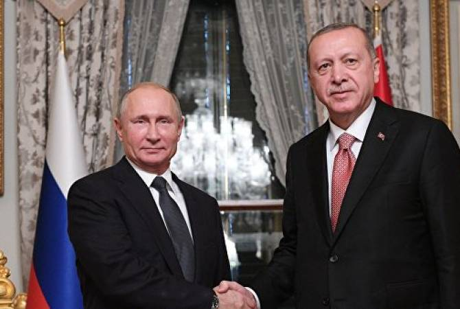 Путин и Эрдоган проведут встречу с российско-турецкими деловыми кругами