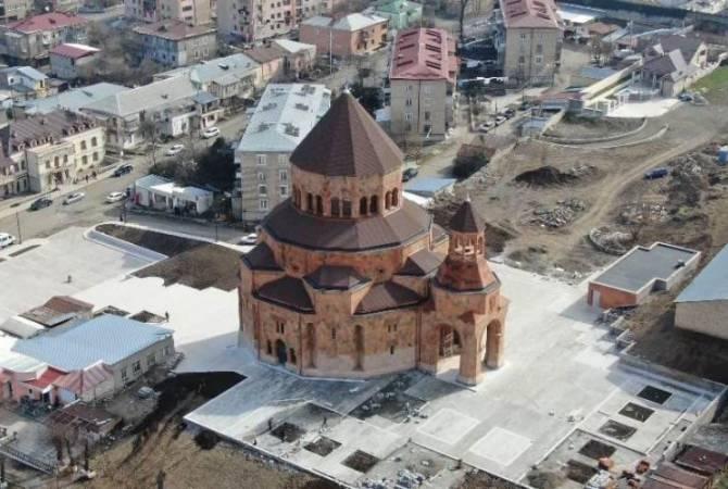 7 апреля в Степанакерте состоится официальная церемония освящения и открытия Кафедрального собора Покрова Пресвятой Богоматери
