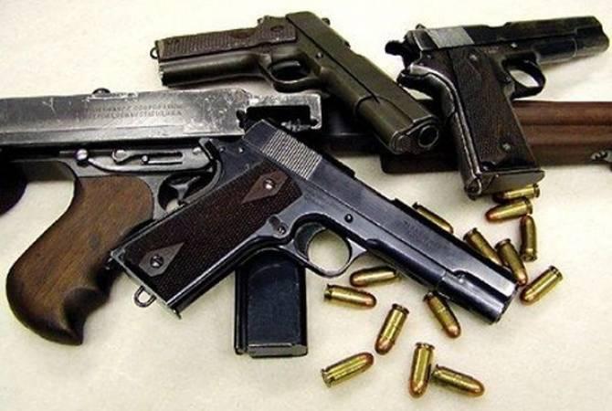 В Ереване при обыске дома гражданина обнаружены незаконно хранящееся оружие и боеприпасы