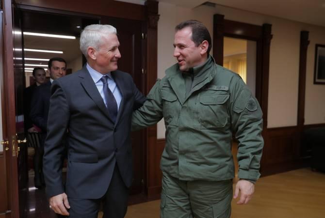 Armenian defense minister receives UN Resident Coordinator | ARMENPRESS  Armenian News Agency