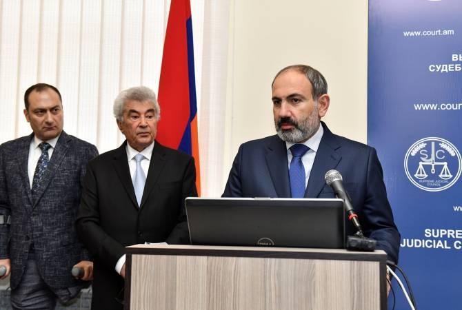 У нас есть исторический шанс сформировать независимую судебную систему: Никол Пашинян посетил Высший судебный совет