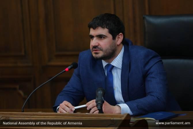 Арман Егоян возглавит парламентские группы дружбы Армения-Канада и Армения- Швейцария