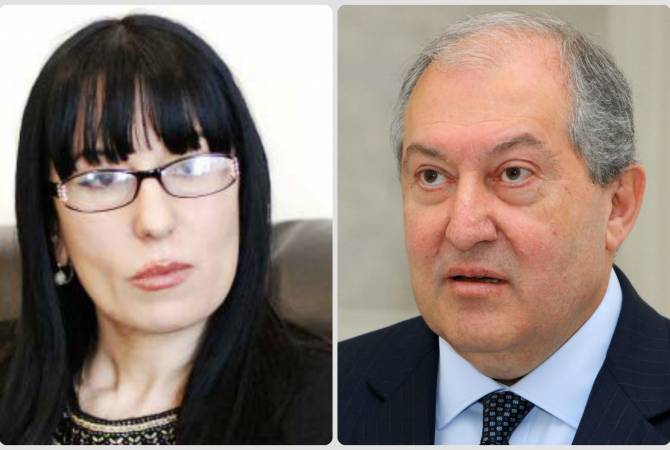 President Sarkissian, parliamentary committee chair discuss human rights-related issues