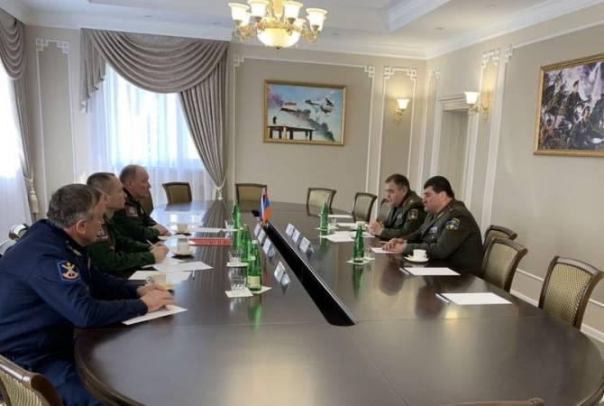 Армения и Россия обсуждают вопросы организации совместных мероприятий по боевой подготовке ВС