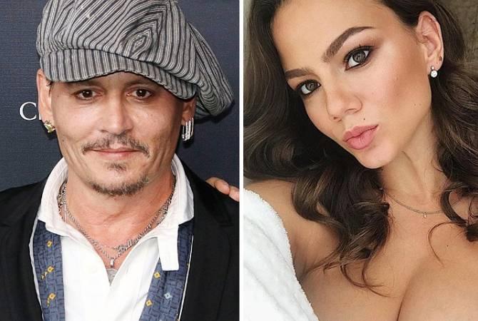 Джонни Депп хочет жениться на 20-летней россиянке, пишут СМИ
