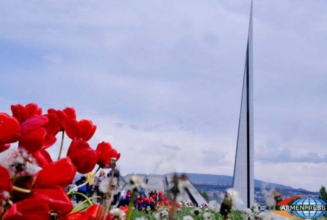 Հալեպում և Սանկտ Պետերբուրգում ոգեկոչել են Հայոց ցեղասպանության 104-րդ տարելիցը