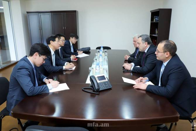 Armenian, Chinese foreign ministries hold political consultations in Yerevan