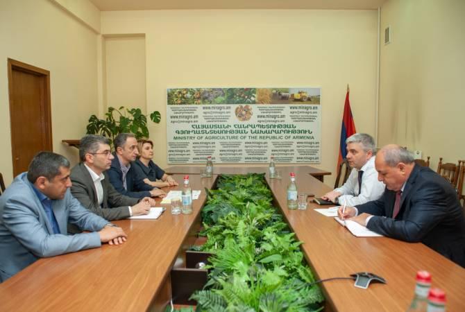 С членами сельскохозяйственного союза обсуждены вопросы сотрудничества