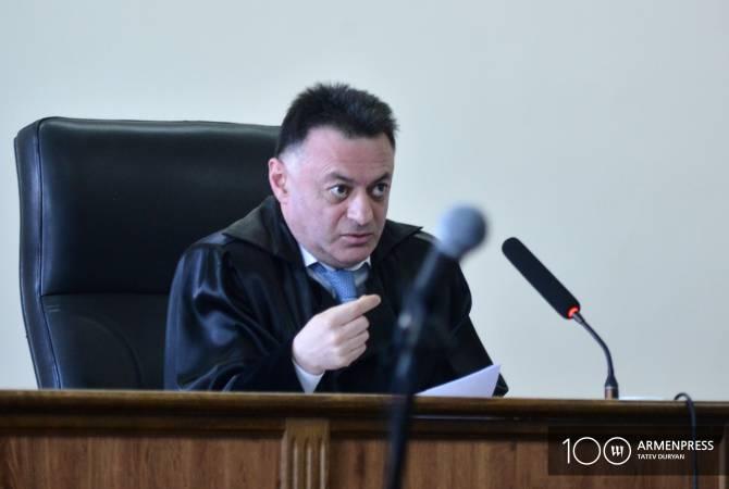 Прокуратура представит ходатайство о самоотводе судьи, который принял решение об изменении меры пресечения в отношении Кочаряна