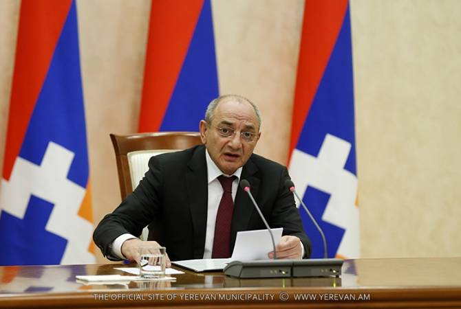 Meeting between Bako Sahakyan and MPs from ruling party over
