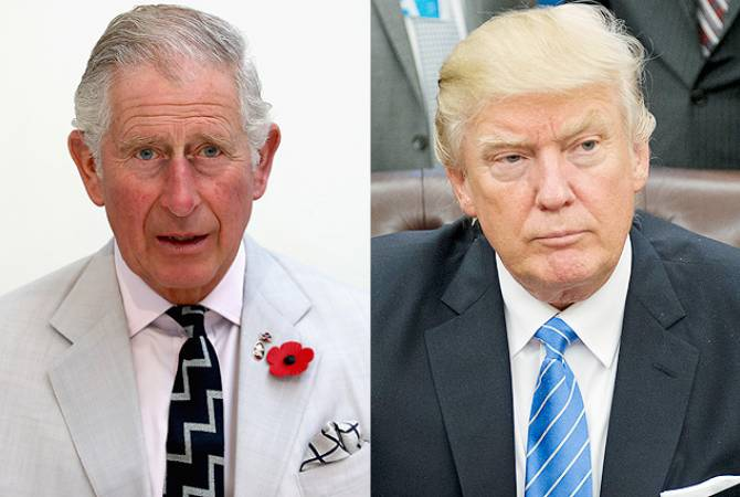 Prince Charles agrees to meet Trump during state visit to UK