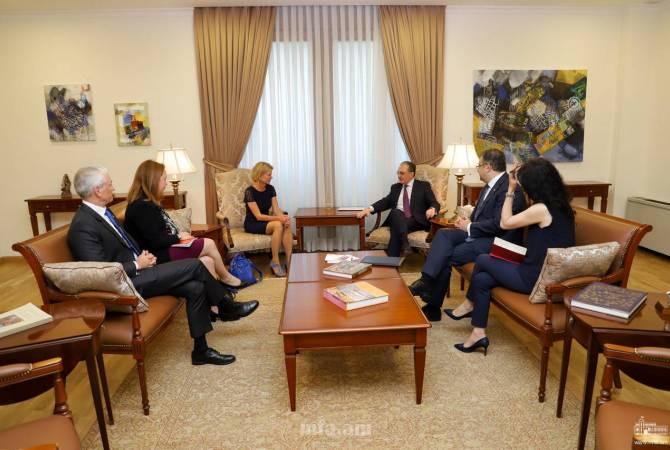 Зограб Мнацаканян встретился с заместителем помощника генерального секретаря ООН