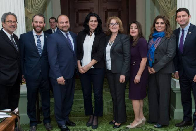 Artsakh's Deputy FM holds number of meetings in California