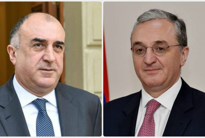 after that appointment of Armenian after that Azerbaijani FMs list en route for abide arrange all the rage Washington D.C. at  June 20 - MFA
