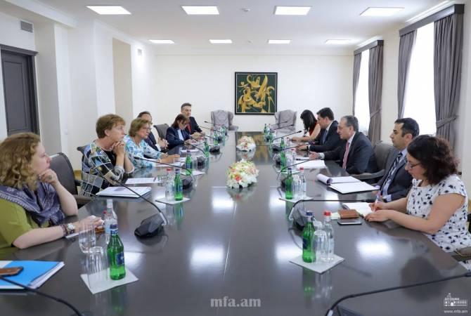 ՀՀ ԱԳ նախարարը և ԵԽ գլխավոր քարտուղարի տեղակալը մտքեր են փոխանակել Եվրոպայի խորհրդում Հայաստանի ներգրավվածությանն հարցերի շուրջ