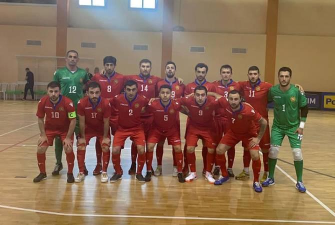 Ֆուտզալի Հայաստանի հավաքականը հաղթեց Իտալիայի ընտրանուն