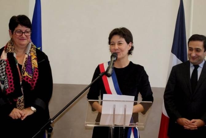 Bourg-de-Péage Mayor announces a propos her goal headed for break Artsakh
