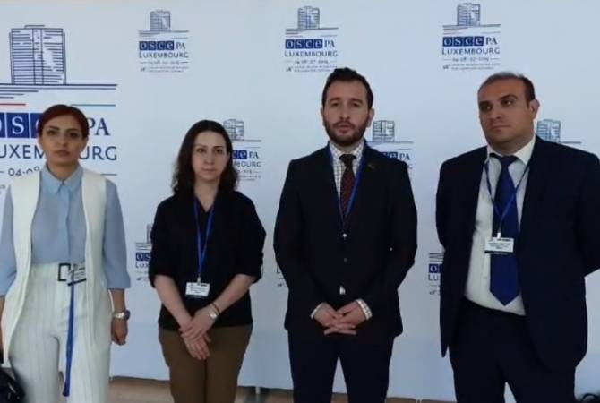 Усилиями Армении из резолюции ПА ОБСЕ изъяты антиармянские формулировки