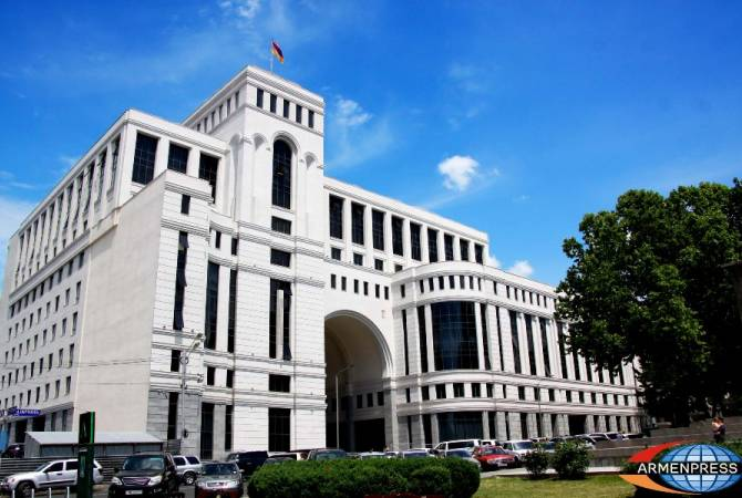 Armenian MFA calls at failure en route for come to a close altogether activities contained by Cyprus'sExclusive cost-effective district