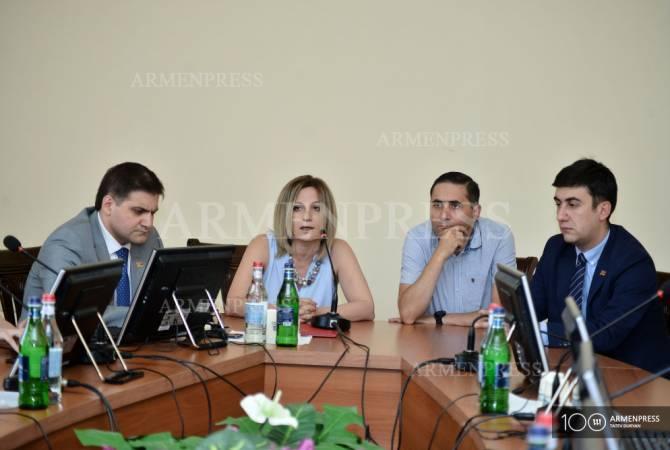 Делегация Национального собрания Армении выдвинула вопрос либерализации визового режима